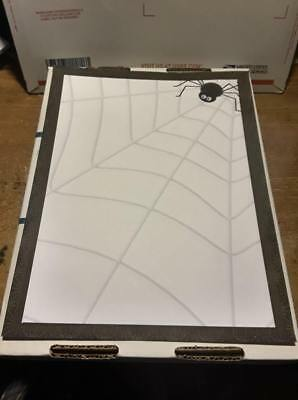 25 Sheets Computer Stationary   Halloween Spider  8-1/2 x 11