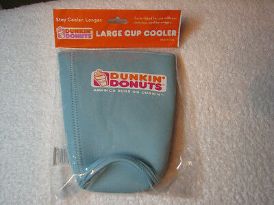 Dunkin Donuts Large 32 Oz Cup Cooler Koozie New In Unopened Package