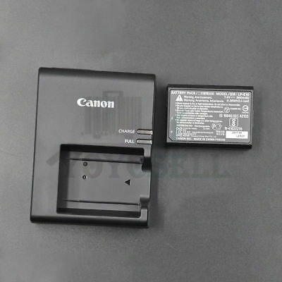 NEW Genuine Canon Rebel T5 T3 T6 Charger and Battery Combo LC-E10 LCE10 LP-E10