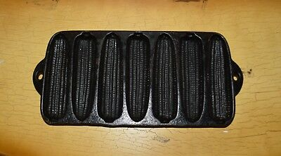 Vtg Cast Iron Wagner Ware Sidney 1319 Junior Krusty Korn Kobs Corn Bread Pan