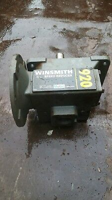 Winsmith 920MDV. 60 to 1speed reducerRemoved from ware house