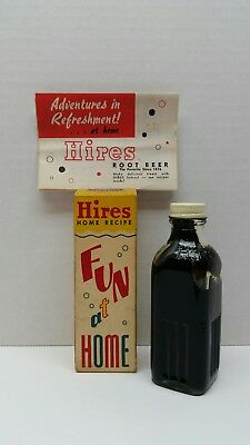 Vintage Hires Home Recipe Root Beer Extract