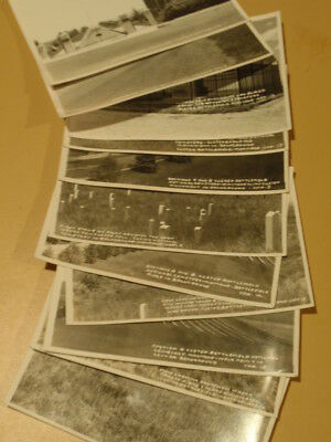 Custer Montana Little Bighorn KFR 11 Real Photo RPPC plus pamphlet 1920s KFR