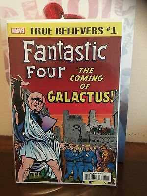 True Believers Fantastic Four Galactus & Silver Surfer NM