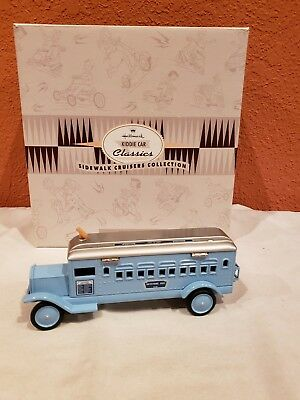 Hallmark Kiddie Car Classics Sidewalk Cruisers 1932 Keystone Coast-to-Coast Bus.