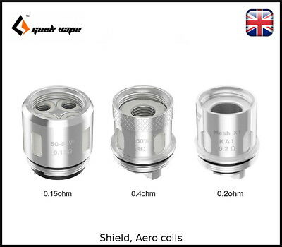 100% Authentic GeekVape Shield coils Aegis kit/Shield tank - IM1, IM4, MESH