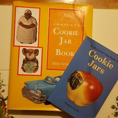Lot Of 2 Cookie Jar Guide Books Schneider Westfall Complete Values Collector Hb