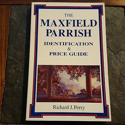 Maxfield Parrish Identification & Price Guide Book Perry American Art History Vg