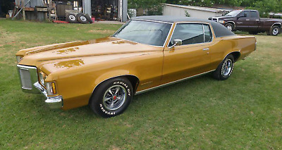 1970 Pontiac Grand Prix Model J 1970 Pontiac Grand Prix 455 HO