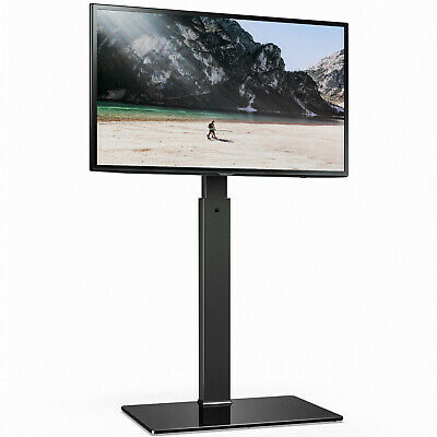 Fitueyes Tall Tv Stand With Swivel Height Adjustable Mount For 32