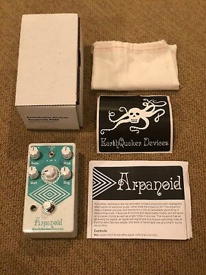 EarthQuaker Devices Arpanoid V2 Polyphonic Pitch Arpeggiator Guitar Effect Pedal