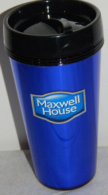 Lot of 2 Maxwell House Coffee Promotional 16 Ounce Plastic Cups By Vision