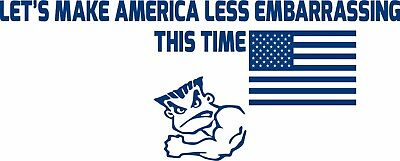 America Flag Military Army Marines Navy Air Force USA Truck Vinyl Decal Sticker