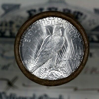 $20 SILVER DOLLAR ROLL S-Mint and S-Mint PEACE DOLLAR ENDS