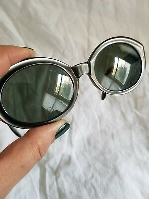 Vtg Ray Ban 1960s Wayfarer *Bewitching* Pearl Black CAT EYE  Bosch & Lomb B&L