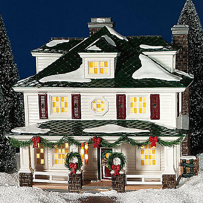 Dept 56 Snow Village® Crosby House BRAND NEW NEVER DISPLAYED