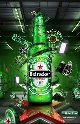 "Heineken Beer Poster Photo Fridge Magnet Collection Size 2""x3"""