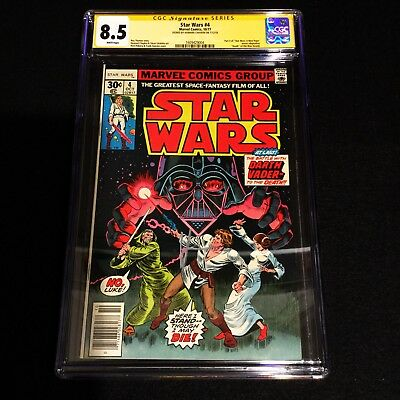Star Wars 4 CGC 8.5 SS Howard Chaykin