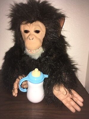 Hasbro Furreal Friends Monkey 2005 Cuddle Chimp Interactive