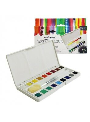 Mont Marte Watercolour Half Pan Set 21pce