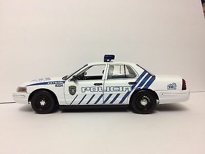 1/18 Puerto Rico State Police ZEBRA./// DECAL SET ONLY//READ. IN STOCK ALREADY !