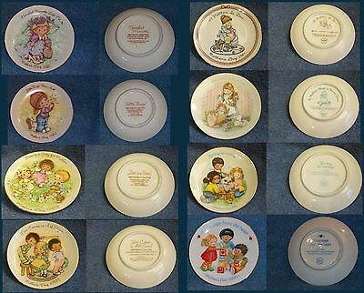 Vintage Avon Mother's Day Plates Lot