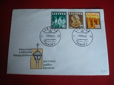Lithuania - 1990 - First Day Cover -  Ex. Condition