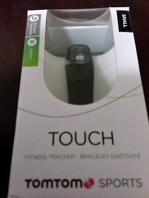 TomTom Touch Cardio Fitness Tracker Small Black with GENUINE TOMTOM