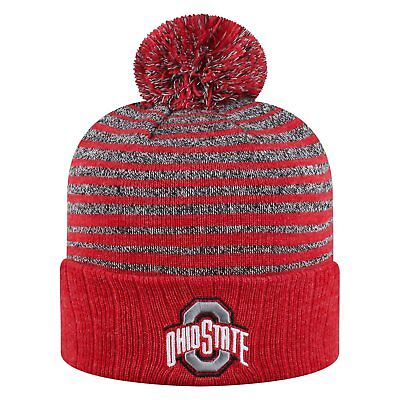 timeless design 42502 79b4d Ohio State Buckeyes Official NCAA Cuffed Knit Ritz Beanie Hat Top of the World  1 ...
