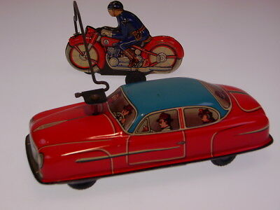 "GSMOTO ""POLIZEI-STOP"" PH. NIEDERMEIER, 23cm, WIND UP OK, NEUWERTIG /NEARLY NEW !"