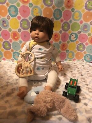 REBORN BABY DOLL paridise gallories baby doll Finn and Sparky baby