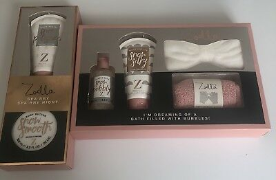 Zoella Spa'rry Night & I'm Dreaming Of Bath Filled Bubbles Xmas Gift Sets