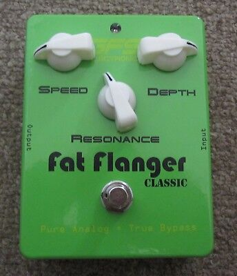 GFS Fat Flanger Classic Vintage Style Analog True Bypass Guitar Effect Pedal