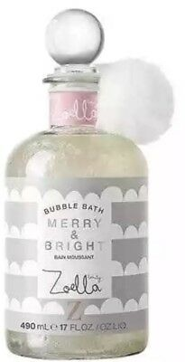Zoella Merry & Bright Bubble Bath 490ml