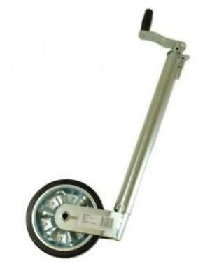 48mm Smooth Trailer Jockey Wheel No Clamp 3500kg Load