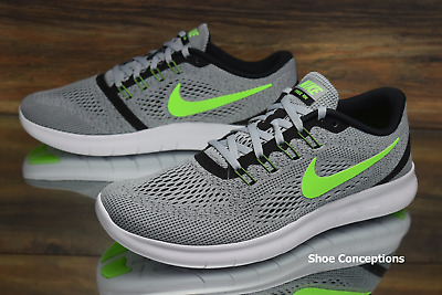 timeless design 146dc c0f9e Nike Free RN Platinum Electric Green 831508-003 Running Shoes Men s Size  11.5