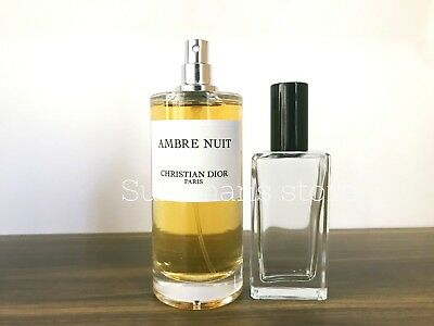 AMBRE NUIT DIOR - decanted perfume bottle!!! Fresh refilled! select your size!