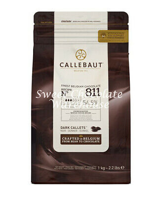 Callebaut Dark Callets 1kg Recipe No 811