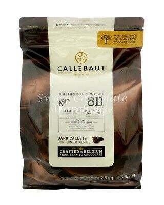 Callebaut Dark Callets 2.5 kg Recipe No 811