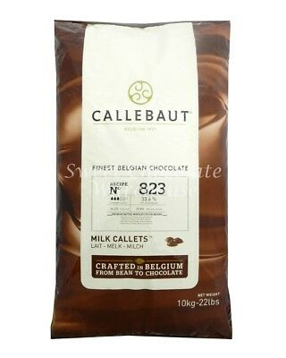 Callebaut Milk Callets 10 kg Recipe No 823