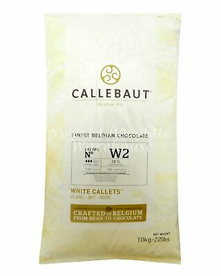 Callebaut White Callets 10 kg Recipe No W2