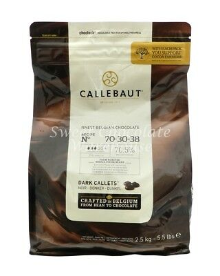 Callebaut Dark Callets 2.5 kg Recipe No 70-30-38