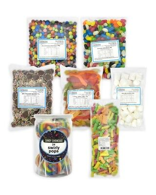 Party & Candy Bar Value Bundle - Over 5kg of Lollies!