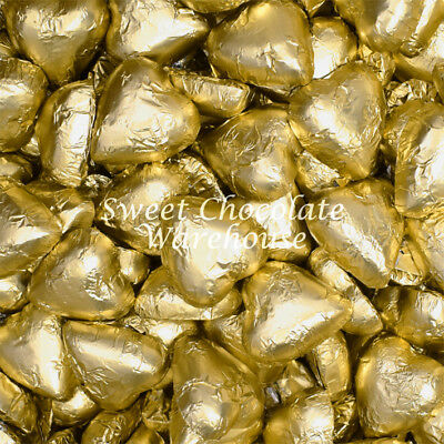 Milk Chocolate Hearts  -  Gold 5kg