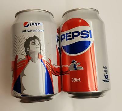 Limited Edition PEPSI Soda can HONG KONG 2018 Love It Live It MICHAEL JACKSON