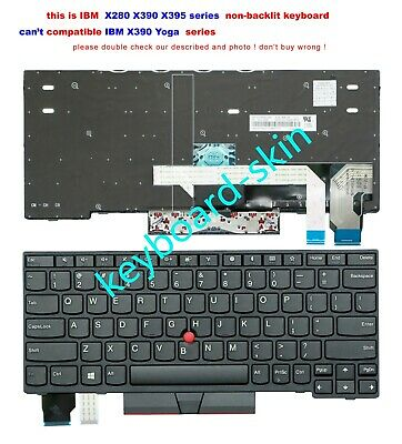 "New US Laptop Keyboard For IBM Lenovo ThinkPad T560 20FH 20FJ 15.6/"" Non-backlit"