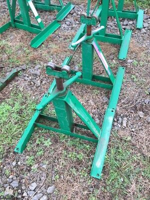 2 Used Greenlee 683 Screw Type Reel Stands