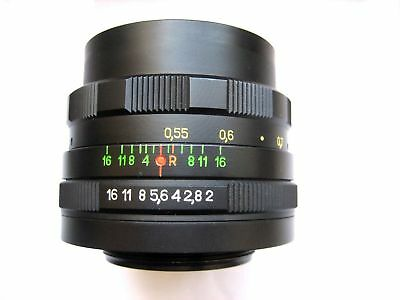 Helios 44M 58Mm F2 Lens Soviet Ussr M42 For Zenit, Canon, Nikon, Sony Exc+++