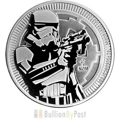2018 Star Wars™ 1oz Silver Stormtrooper Coin