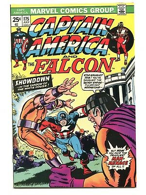 1974 Marvel Captain America #175 Falcon X-Men Near Mint- 9.2 D5